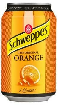 Grosspackung  Schweppes Orange (24 x 0,33 Liter Dosen PL) = 7,92 Liter