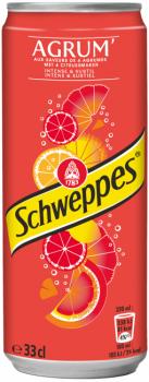 Grosspackung  Schweppes Agrum (24 x 0,33 Liter Dosen BE) = 7,92 Liter