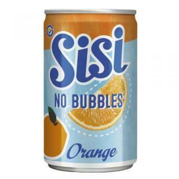 Grosspackung  Sisi No Bubbles Orange (24 x 0,15 Liter Dosen NL) = 3,6 Liter