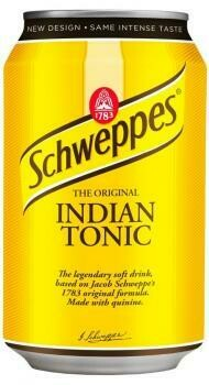 Grosspackung  Schweppes Indian Tonic (24 x 0,33 Liter Dosen PL) = 7,92 Liter