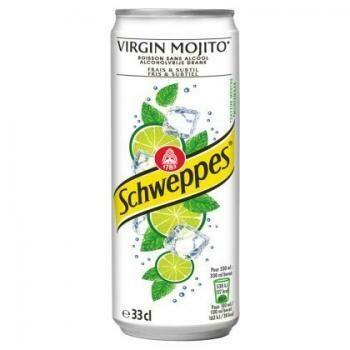 Grosspackung  Schweppes Virgin Mojito (24 x 0,33 Liter Dosen BE) = 7,92 Liter
