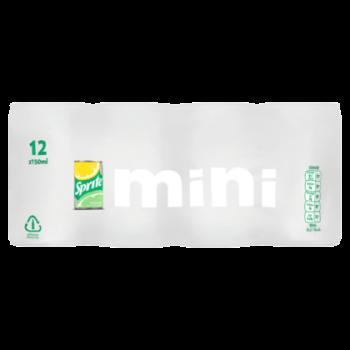 Grosspackung  Sprite Mini Zero Sugar (24 x 0,15 Liter, Dosen NL) = 3,6 Liter