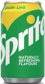 Grosspackung  Sprite Lemon-Lime (24 x 0,33 Liter Dosen DK) = 7,92 Liter
