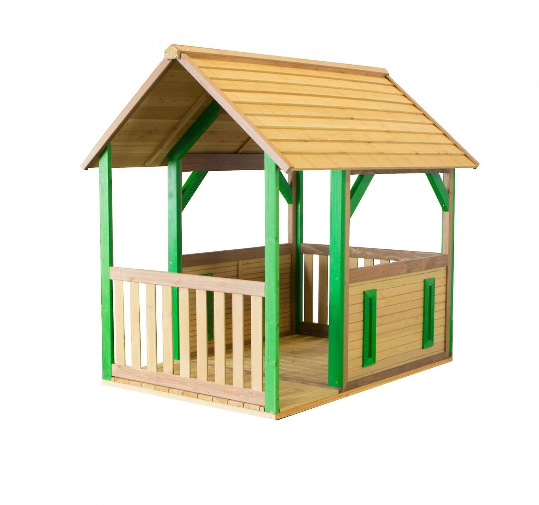 AXI Waldspielhaus aus Holz 118 x 172 x 178 cm natur