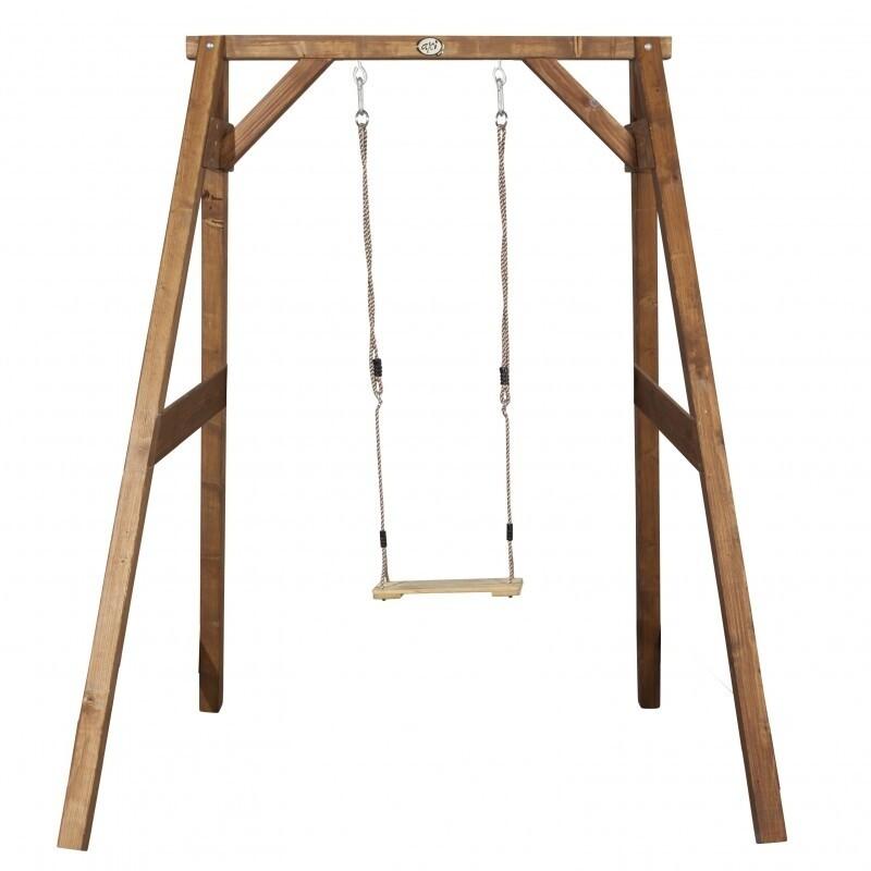 AXI Einzelschaukel aus Holz, 215 x 181 cm