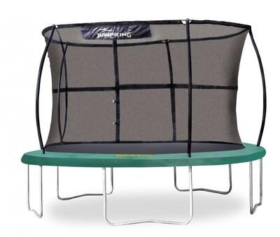 Jumpking Trampolin mit Sicherheitsnetz JumpPod Classic, 305 cm grün