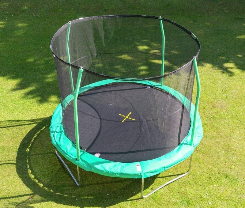 Jumpking Trampolin Combo, 366 cm grün