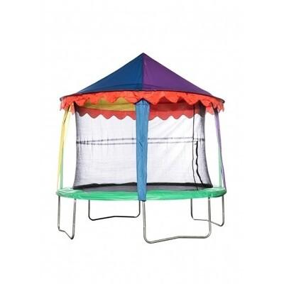 Jumpking Trampolin Vordach Zirkuszelt 4,27 Meter, rund, diverse Farben