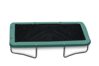 Jumpking Trampolinabdeckung schwarz rechteckig 2,44 x 3,66 Meter