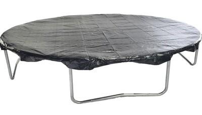 Jumpking Trampolinabdeckung oval 2,44 x 3,51 Meter schwarz