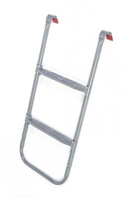 Jumpking Trampolinleiter Deluxe 87-95 cm silberfarben