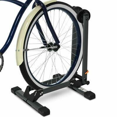 HOMCOM® Universal Fahrradhalter Klappbarer Fahrradständer Ausstellungsständer Metall