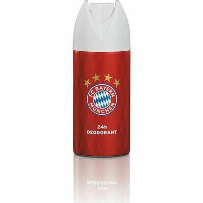 Grosspackung FC Bayern München Deodorant 6 x 150 ml = 900 ml rot mit Logo