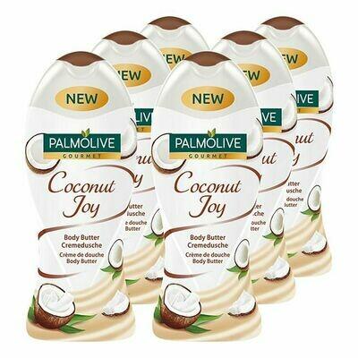 Grosspackung Palmolive Cremedusche Naturals Kokosnuss 250 ml, 6er Pack = 1,5 Liter