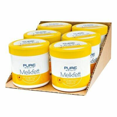 Grosspackung Pure & Basic Melkfett 250 ml, 6er Pack = 1,5 Liter