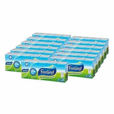 Grosspackung Feeling Balsam Taschentücher 150 Stück, 15er Pack
