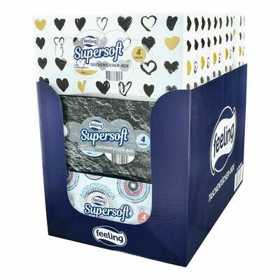 Grosspackung Feeling Taschentücher Box 100 Stück, 15er Pack