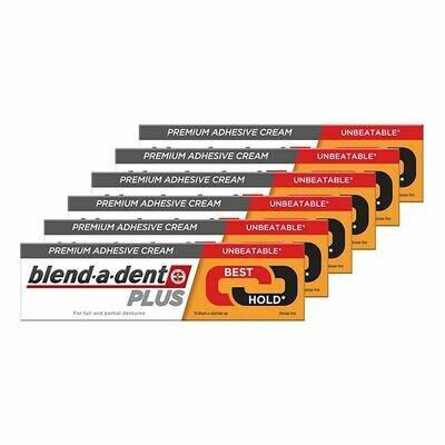 Grosspackung blend-a-dent Plus Duokraft Premium-Haftcreme 40 g, 6er Pack = 240 g