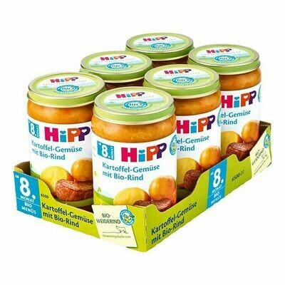 Grosspackung HiPP Bio Kartoffelgemüse mit Bio-Rind 220 g, 6er Pack = 1,32 kg