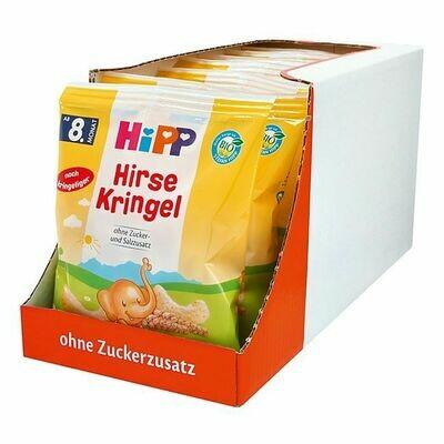 Grosspackung HiPP Bio Hirse Kringel 30 g, 7er Pack = 210 g