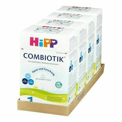 Grosspackung HiPP Bio 1 Combiotik 600 g, 4er Pack = 2,4 kg