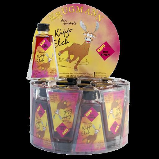 Grosspackung SKIPP ELCH Wildfruchtlikör 15%vol 20 x 0,02 l = 0,4 Liter