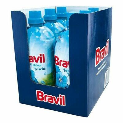 Grosspackung Bravil Weichspüler Frühlingsfrische 1,5 Liter, 6er Pack = 9 Liter