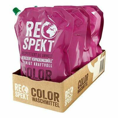 Grosspackung Respekt Colorwaschmittel 30 WL, 5er Pack