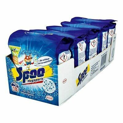 Grosspackung Spee Vollwaschmittel Megaperls 18 Waschladungen, 5er Pack
