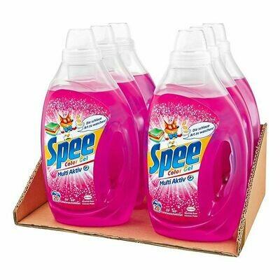 Grosspackung Spee Colorwaschmittel Gel 20 WL, 6er Pack