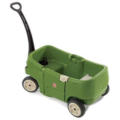 Step2 Handwagen für 2 Kinder, grün 108 cm