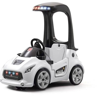 Step2 Turbo Coupe Polizeiwagen, 89 cm weiß