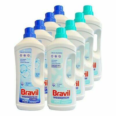 Grosspackung Bravil Hygienespüler 1,5 Liter, verschiedene Sorten, 8er Pack = 12 Liter