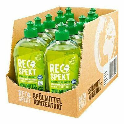 Grosspackung Respekt Spülmittel Konzentrat 500 ml, 10er Pack = 5 Liter