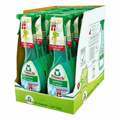 Grosspackung Frosch Spiritus-Glasreiniger 500 ml, 12er Pack = 6 Liter