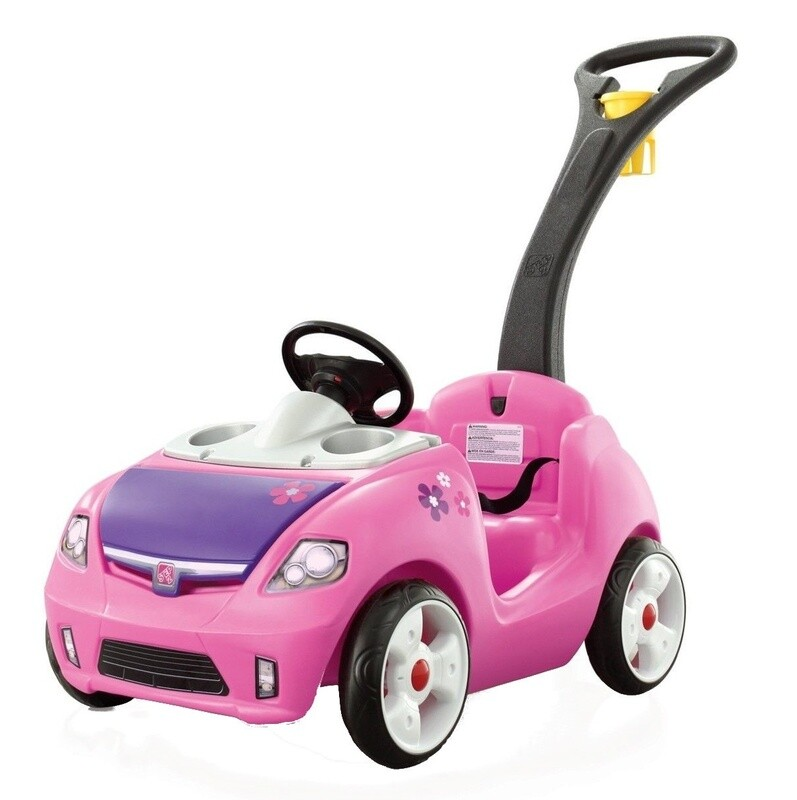 Step2 Kinder-Auto Whisper Ride II, Kinder-Auto, 115 cm rosa