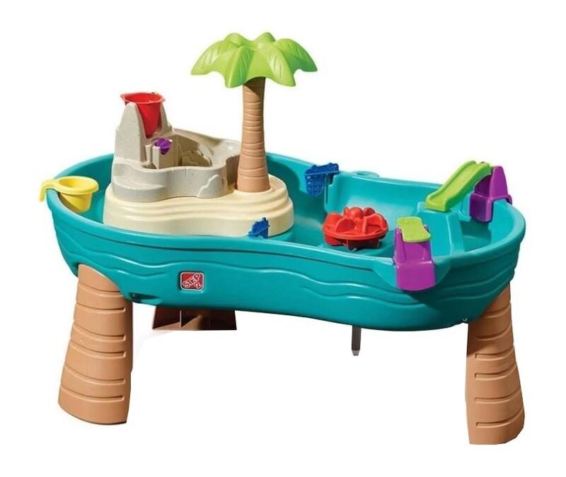 Step2 Wasserspieltisch Splish Splash Seas 107 cm blau/braun