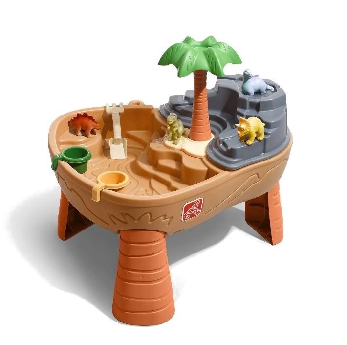 Step2 Sand- und Wassertisch Dino Dig 83 cm braun