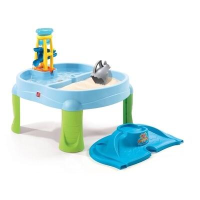 Step2 Sand- & Wassertisch Splash & Scoop Bay 79 cm blau
