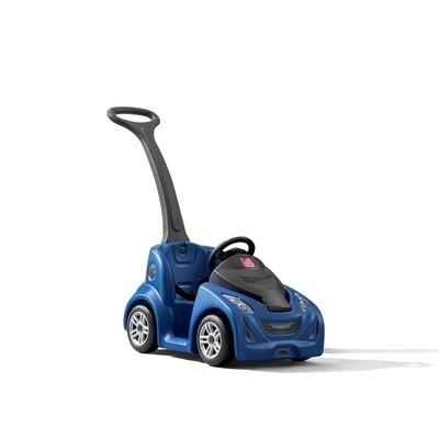 Step2 Kinder- Auto Push Um 103 cm blau