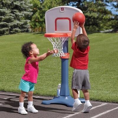 Step2 Shootin Junior Basketball Set 122 cm blau