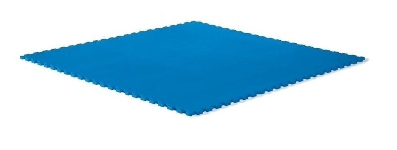 Step2 Spielmatte 61 x 61 cm Schaumstoff blau 4 Stück