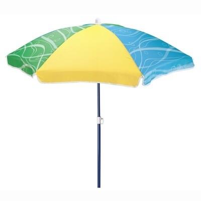 Step2 Sonnenschirm Seaside 106,7 cm gelb/blau/grün