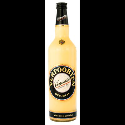 Grosspackung Verpoorten Original Eierlikör 20 % Vol. - 6 x 1,00 l Flaschen = 6 Liter