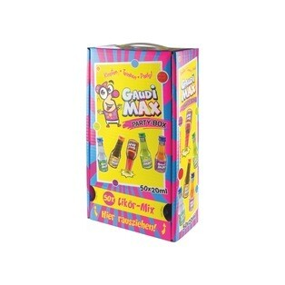 Grosspackung Gaudi Max Party Box 50 x 0,02 l = 0,25 Liter