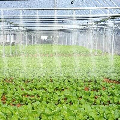 Outsunny® Bewässerungssystem Sprühnebel-Kühlsystem Gewächshaus Outdoor Misting System SprayKühlsystem