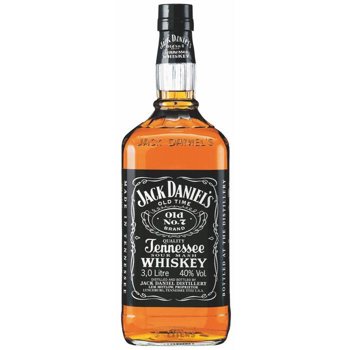 Grosspackung Jack Daniels Tennessee Whiskey aus den USA 3 Liter