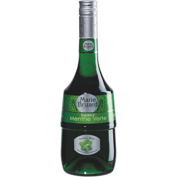 Grosspackung Marie Brizard Menthe grün Barlikör aus Frankreich 6 x 0,7 l = 4,2 Liter