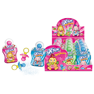 Grosspackung Tise X-Treme Baby Schnuller - 650 g Packung