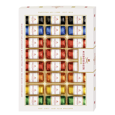 Grosspackung Niederegger Marzipan Klassiker-Variationen, 6-fach sortiert - 10 x 300 g Packung = 3 kg